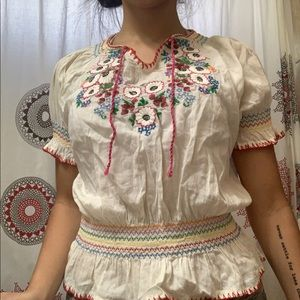 Mexican Inspired Blouse